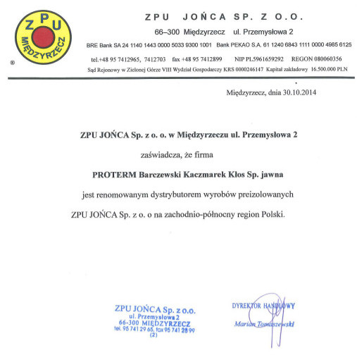 Proterm-Certyfikat35a